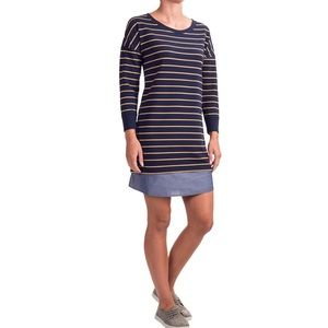 4/20$ Lucy & Laurel Striped French Terry Dress